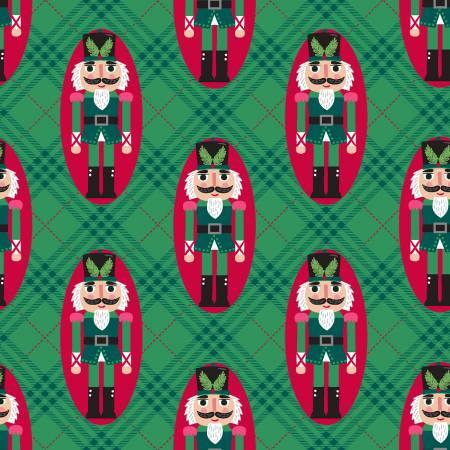 Green Nutcracker - Holiday Wonder - 18082-GRN