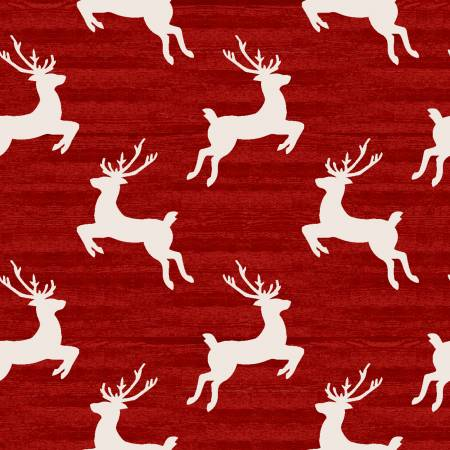 Home for the Holidays Red Reindeer