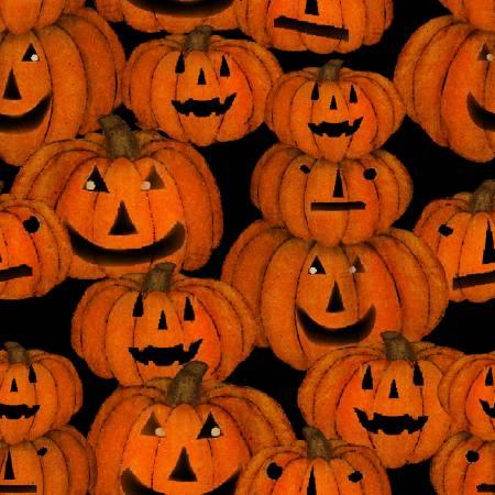 3 Wishes Spooky Night 18113-BLK Black Spnt Jack