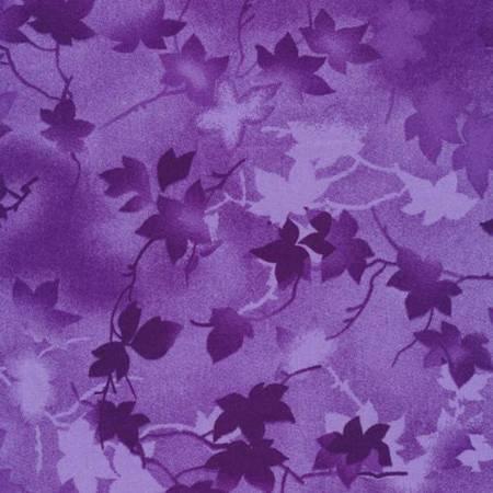 Purple Ivy Tonal 118in Wide Back