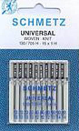 Schmetz Universal Machine Needle Size 70/80/90/100