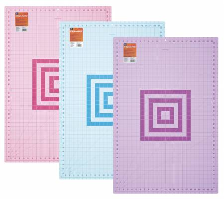 Fashion Cutting Mat 24in x 36in Assorted Colors