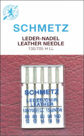 Schmetz Leather Machine Needle Size 80/90/100