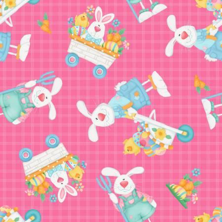 Bunny Farm 1841-22 Pink