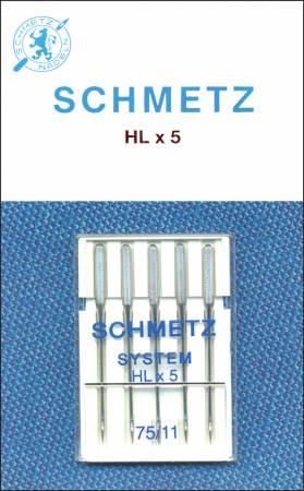 Schmetz Machine Needle HXL5 Size 11/75