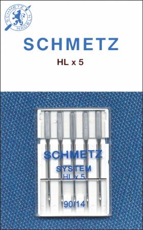 Schmetz HXL5 Size 14/90 Machine Needle