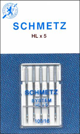 Schmetz Machine Needle HXL5 Size 16/100
