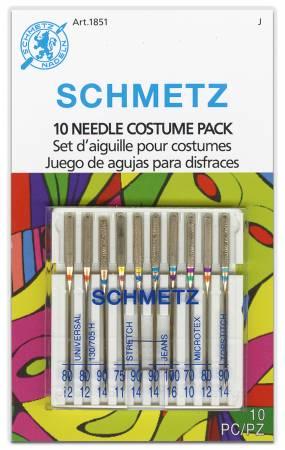 Schmetz 10 Needle Costume and Cosplay Pack