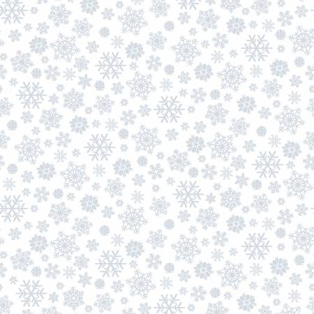 Quilter's Flour II  -  Snowflakes