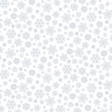 White White on White Snowflake