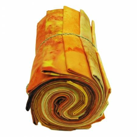 1895's Batik Tangerine Sunrise Bundle