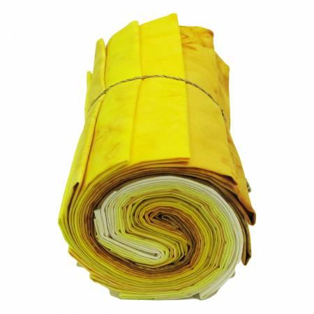 12 Fat 1/4s Yellow 1895s Sunshine & Smiles Hoffman Watercolors