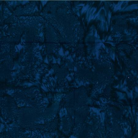Deep Blue Watercolor Batik