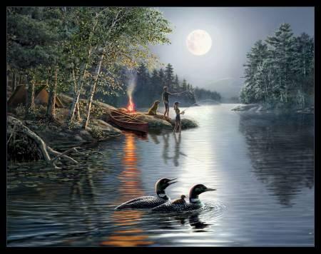Angler's Moon Panel Black