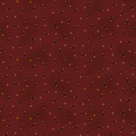 Idaho Prairie Star Red Ditsy