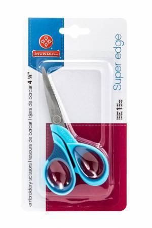 Superedge 4-1/4in Embroidery Scissor Blue