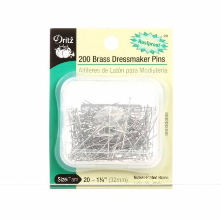 Dressmaker Pin Size 20 - 1-1/4in 200ct