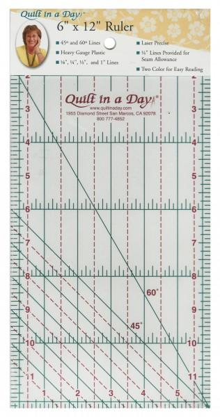 Quilt In A Day Ruler 6 x 12