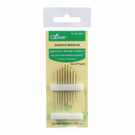 Clover Sashiko Needles 8 ct