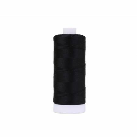 Pima Cotton Thread 50wt 1200yds Black