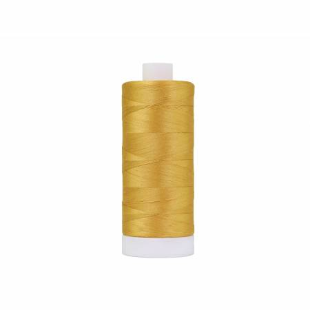 Pima Cotton Thread 50wt 1200yds Gold