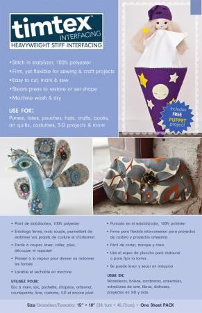 Timtex Craft Pack 15in x 18in
