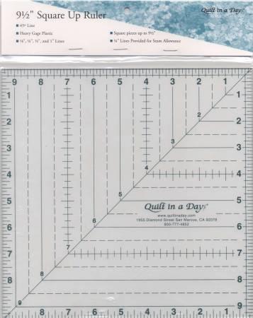 2012QD Square Up Ruler 9 1/2in