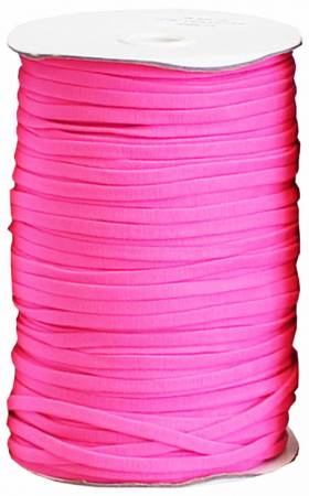 Soft Stretch Elastic 1/4in Pink