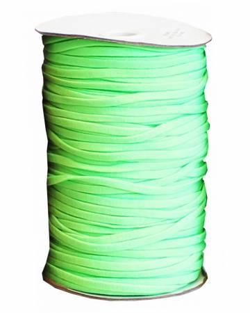 Soft Stretch Elastic 1/4in Green