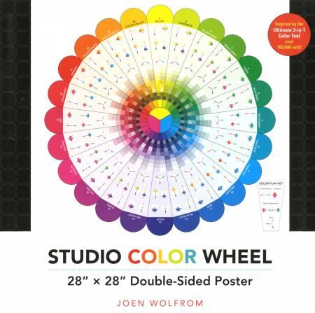 Studio Color Wheel 28in x 28in Poster