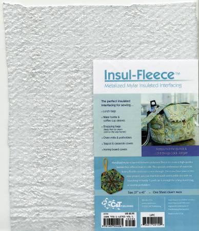 Insul-Fleece Insulated Interfacing 1 Sheet Craft Pack 27in x 45in