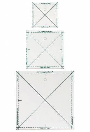 Fussy Cut Ruler Set of 3 - 2015QD