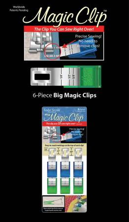 Magic Clip Big 6pc Set