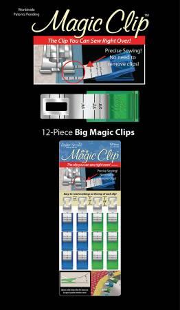 Magic Clip Big 12pc