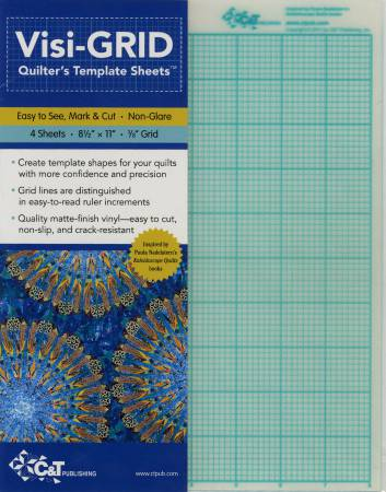 Visi-Grid Quilter's Template Sheets 4 per pack
