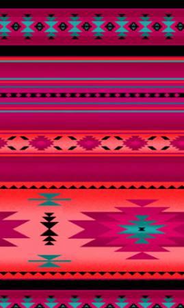 Pink Indian Blanket