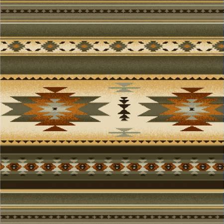 Sage Stripe Fabric 100% Cotton 42-44 Wide