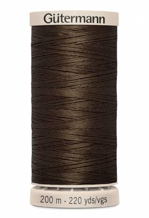 Cotton Quilting Thread 200m/219yds Chocolate