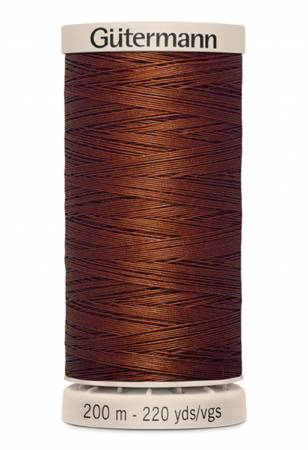 Cotton Quilting Thread 200m/219yds Rust