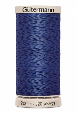 Cotton Quilting Thread 200m/219yds Dark Navy