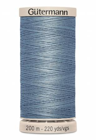 Cotton Quilting Thread 200m/219yds Light Slate Blue