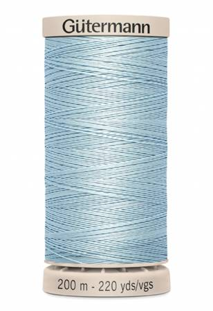 Cotton Quilting Thread 200m/219yds Light Blue Dawn