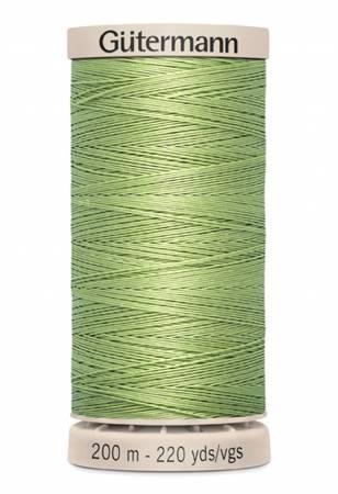 Cotton Quilting Thread 200m/219yds Light Fern