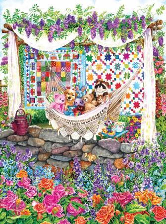 Garden Hammock 1000pc puzzle