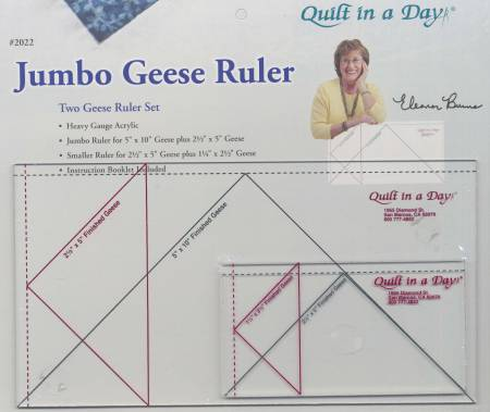 Ruler Jumbo Geese Set 2pc