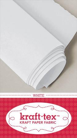 Kraft-tex Roll White 19in x 1-1/2 yard roll