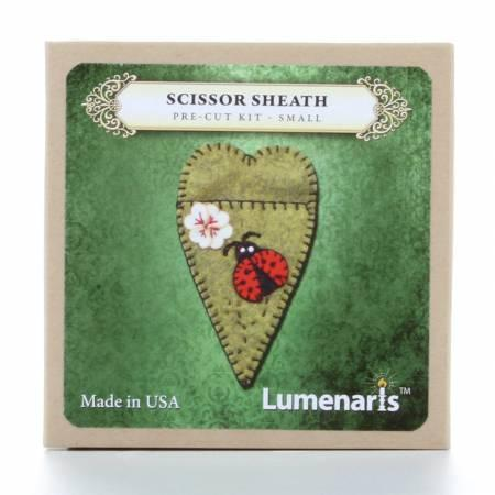 Lumenaris Ladybug Small Scissors Sheath  4-1/4L × 2-1/2W