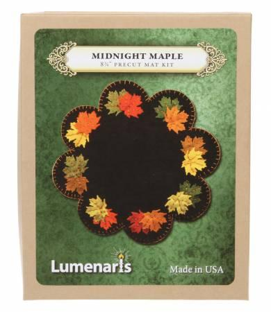 Wool Felt Kit Midnight Maple Mat