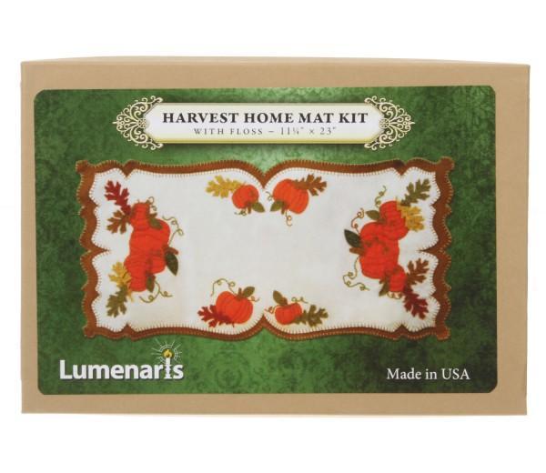 Wool Felt Kit Harvest Home Mat