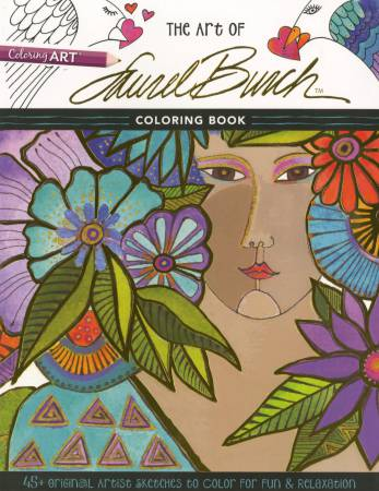 Art of Laurel Burch Coloring Book - Softcover